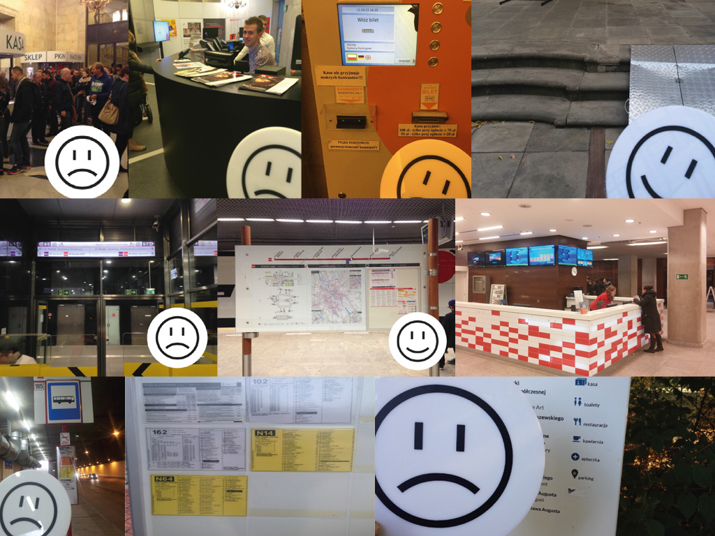 ux tool - emoticon used to evaluate tourist attractions