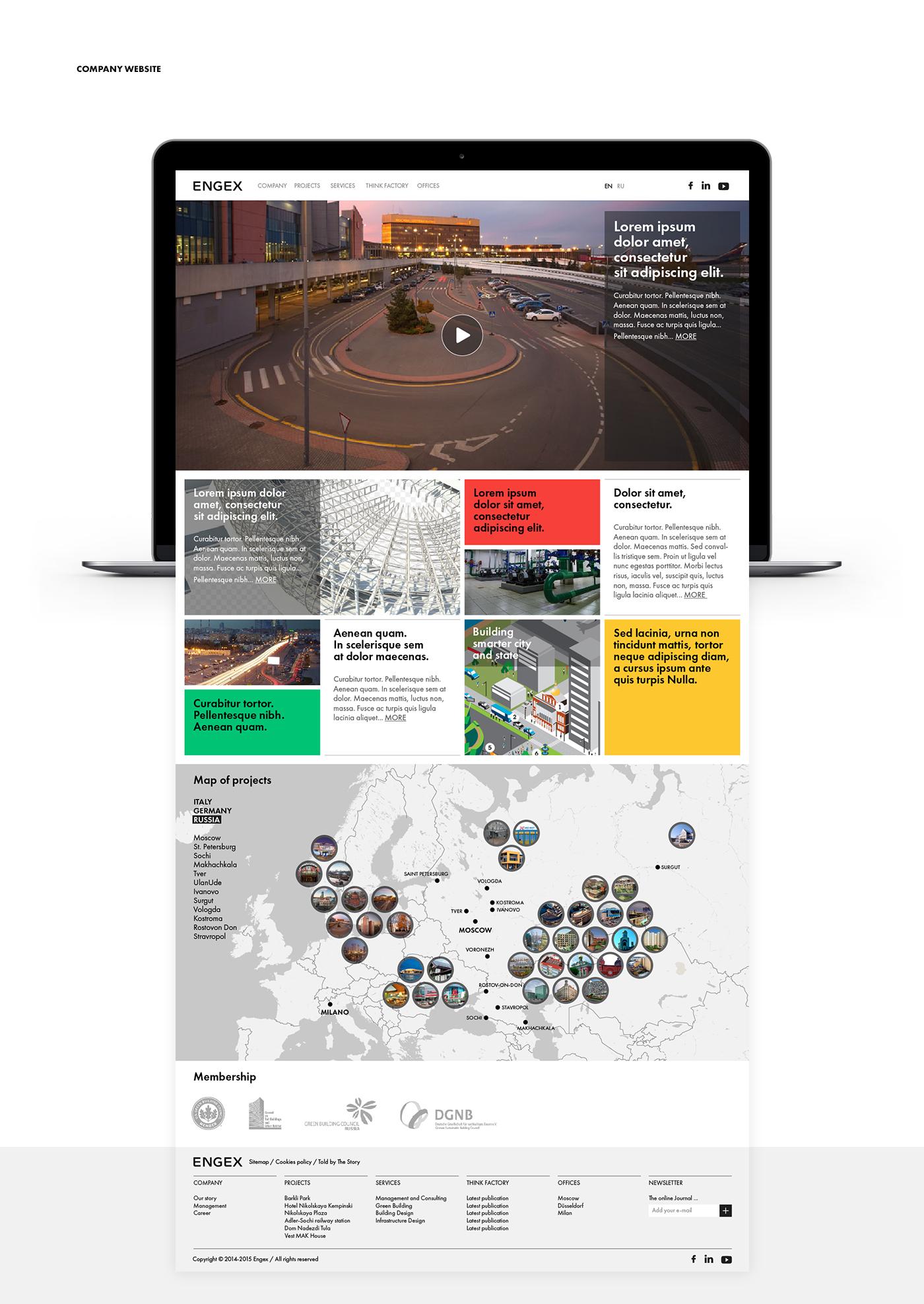Nowy serwis internetowy Engex oparty o nową identyfikację wizualną