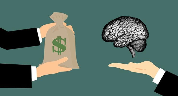 wymiana wiedzy za pieniądze