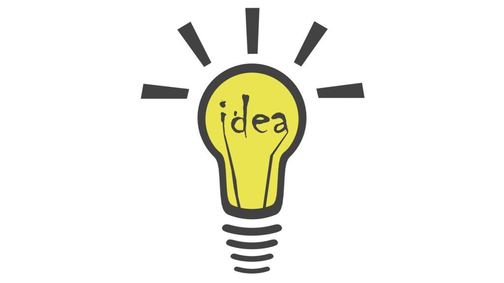 żarówka pomysł idea
