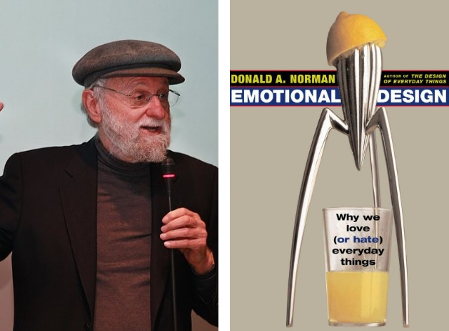 "Don Norman i jego książka ""Emotional Design""."