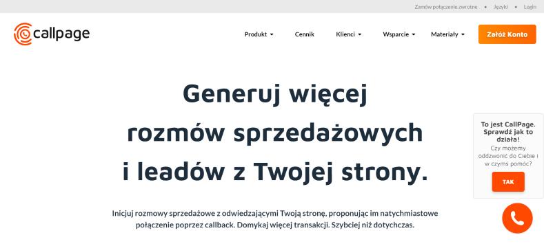 Value Proposition CallPage.pl