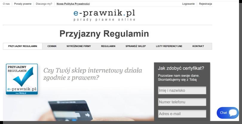wiarygodna strona internetowa - prawnicy