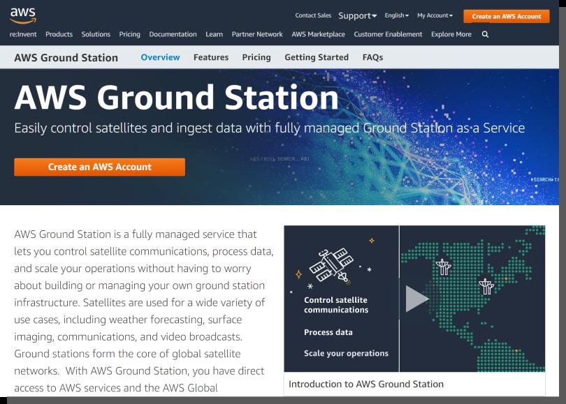 aws ground station - przenosiny do chmury