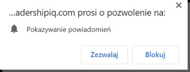 interfejs Chrome - alert