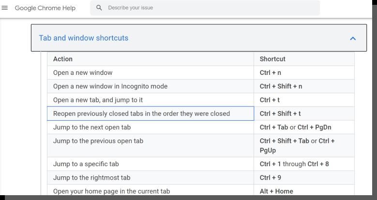 projektowanie interfejsu - google chrome