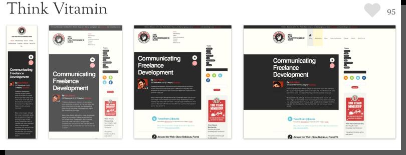Responsive Web Design - projekt, przykład