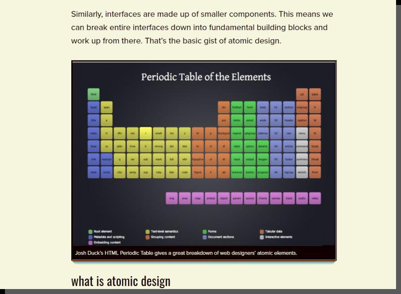 projektowanie interfejsów - chemia