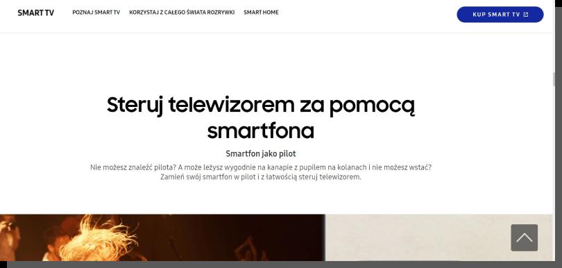 spójność interfejsu - Samsung