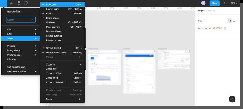 interfejs aplikacji - Figma