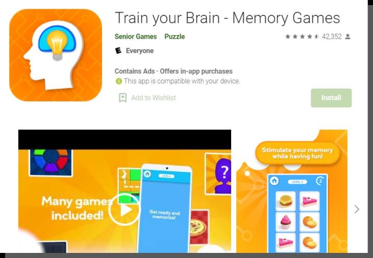 aplikacja dla seniorów w google play