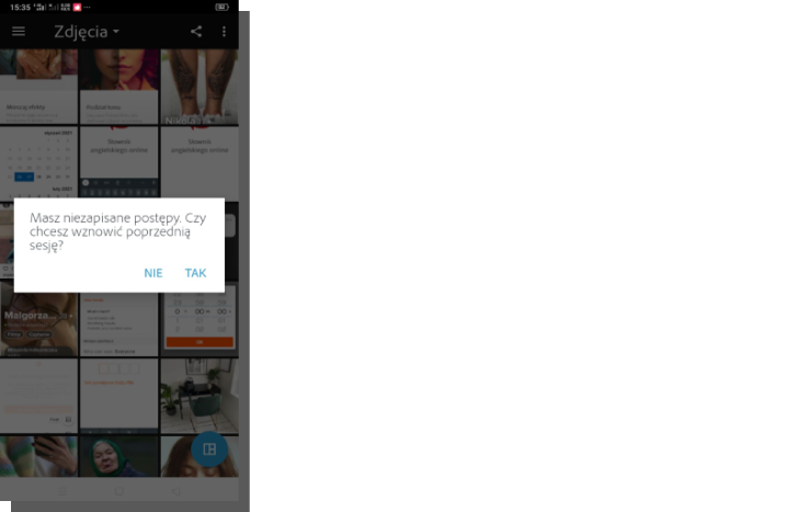 aplikacja mobilna psx - task oriented design