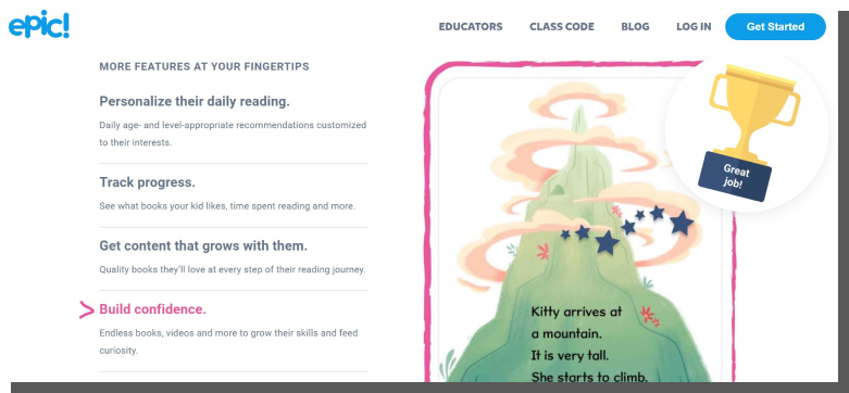 aplikacje mobilne i webowe dla dzieci - epic
