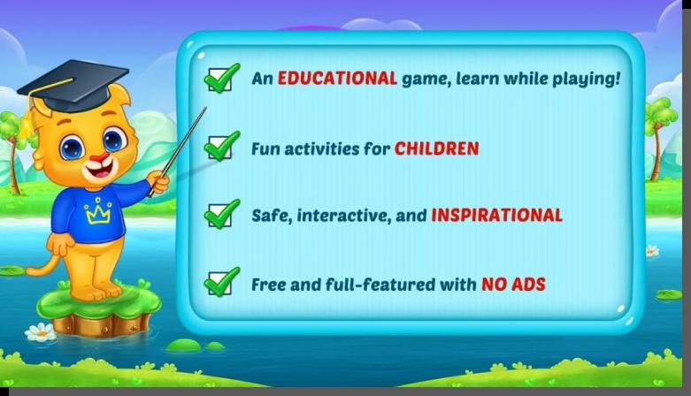 aplikacje dla dzieci - cechy