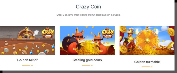 aplikacja mobilna dla dzieci - crazy coin