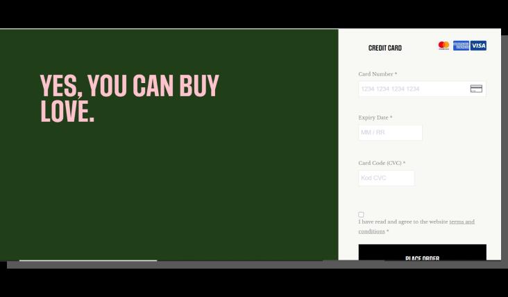e-commerce ux - zamówienie w sklepie