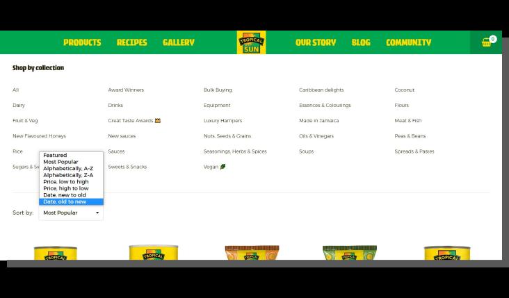 ux e-commerce - kategoryzacja