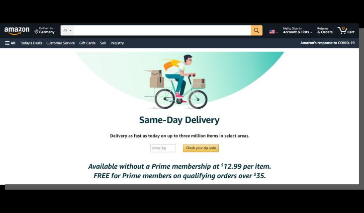 ux e commerce - trendy w e commerce
