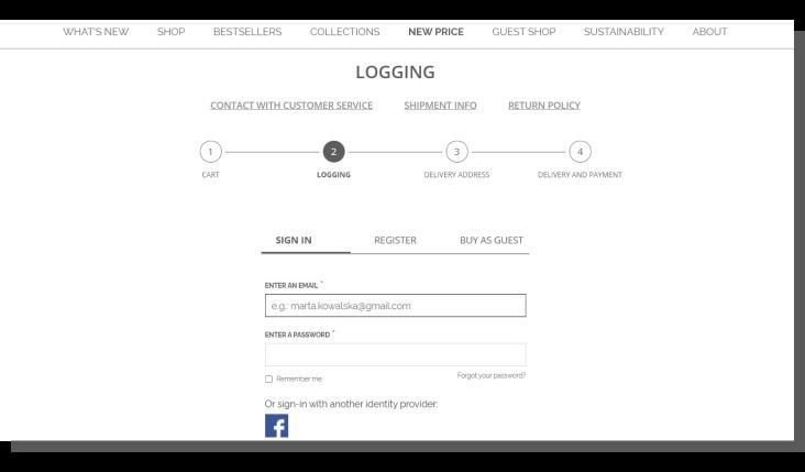 e-commerce optymalizacja - tryby zakupowe