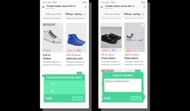 ux e commerce - poprawa doświadczeń
