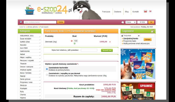 sprzedaż e-commerce - produkty trudne do sprzedania