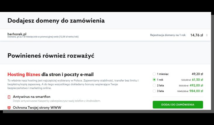 klient w e-commerce - home