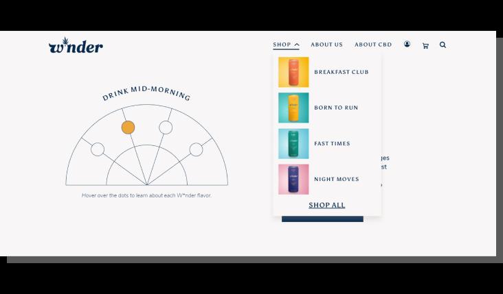 projektowanie strony głównej w sklepie internetowym - value proposition