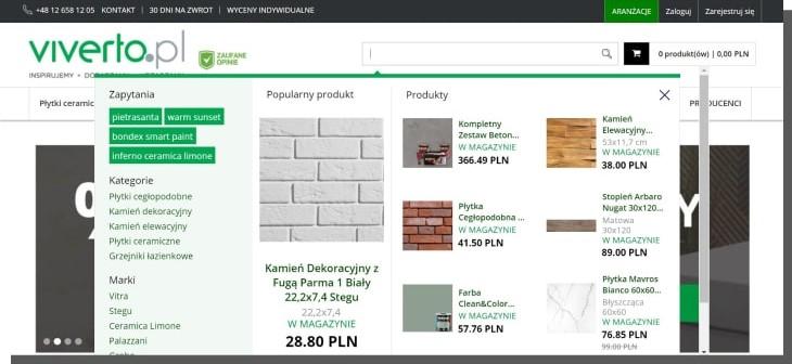 wyszukiwarka e-commerce