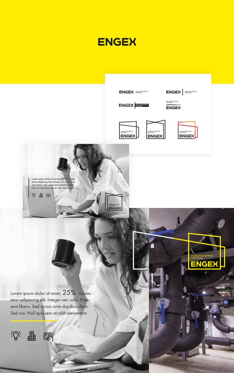 Engex - branding + serwis internetowy