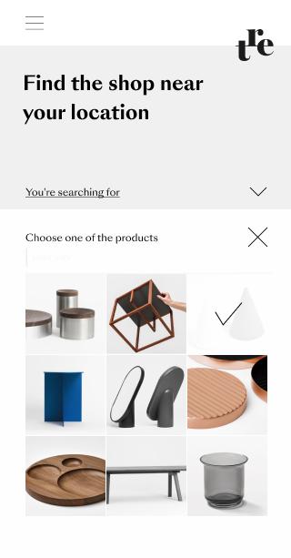 Shop finder preview